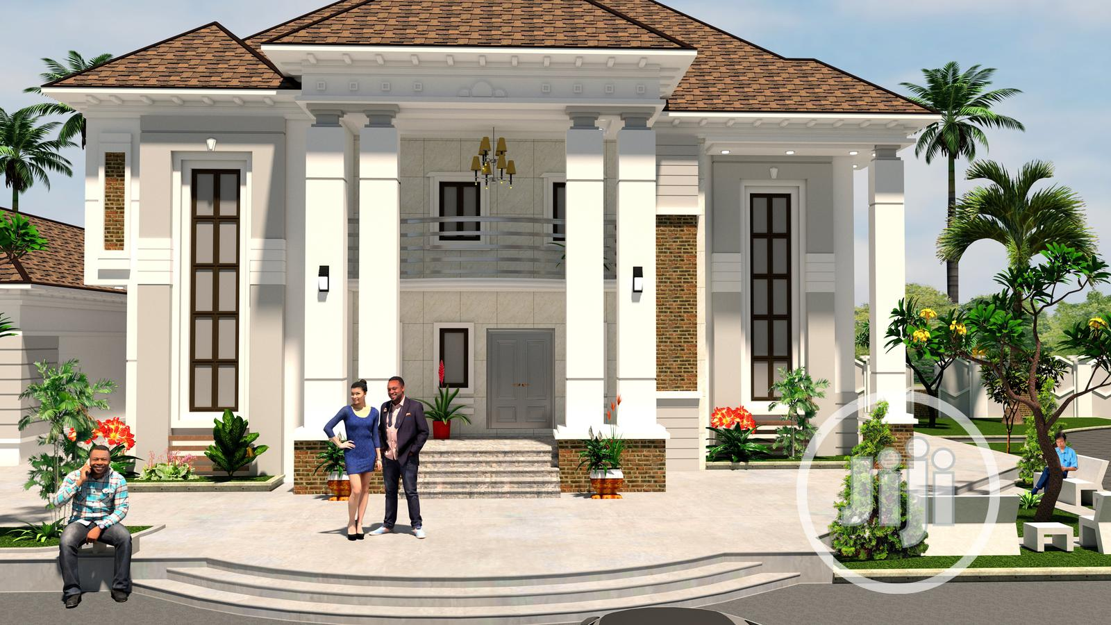 8 Bedroom Mansion Architectural Building Designs In Nigeria In Awka Building Trades Services Demanets Engineering Nig Ltd Jiji Ng