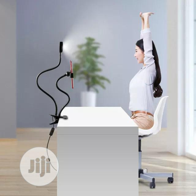 LED Selfie Ring Light Lamp With Stand Phone Holder