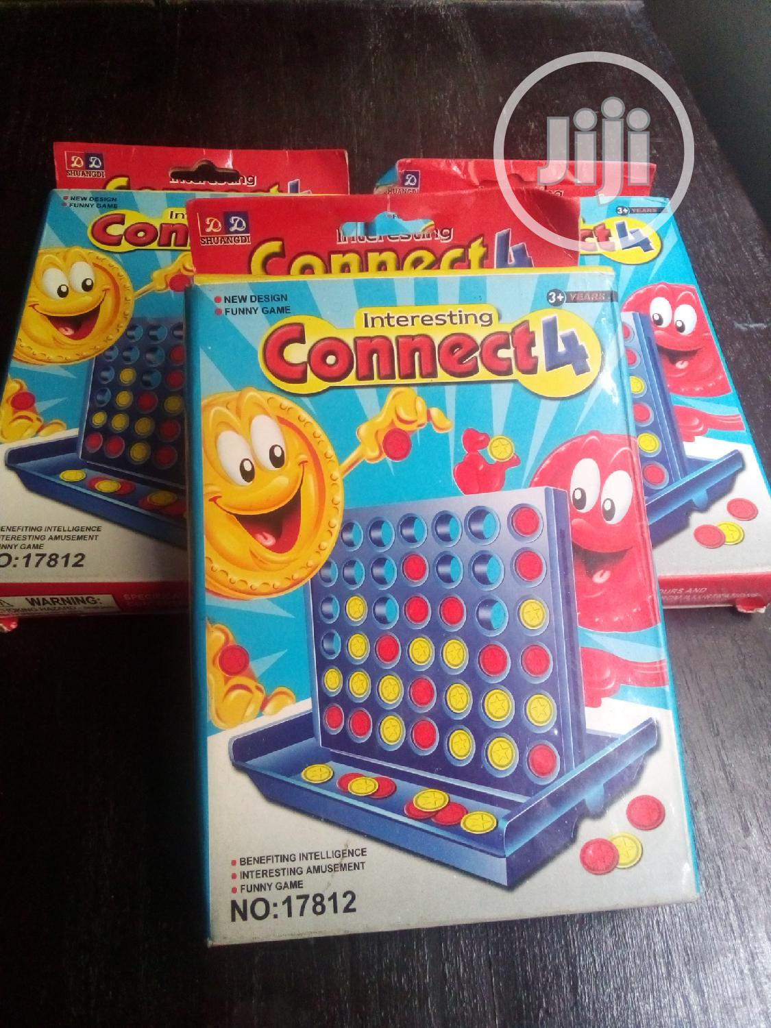 Connect 4 (Educational Game)