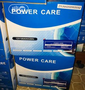 12v 200ah Power Care Battery Available Now | Solar Energy for sale in Lagos State, Ojo