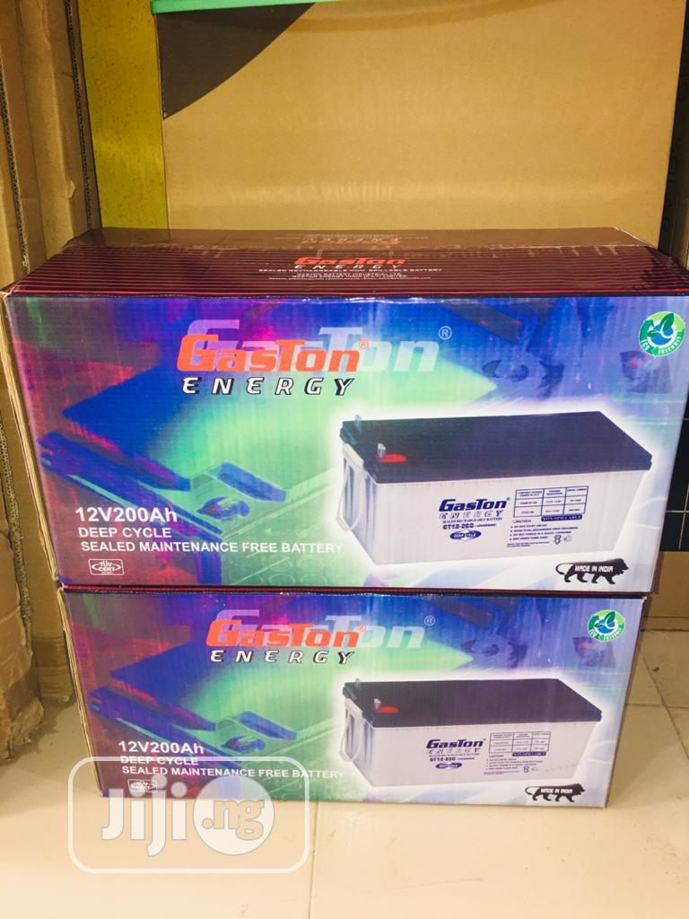 12v 200ah Gaston Battery Available Now Now