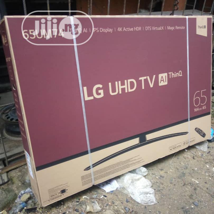 "Archive: LG 65""Uhd 4K Smart TV With Magic Remote Control,Bluethoot"
