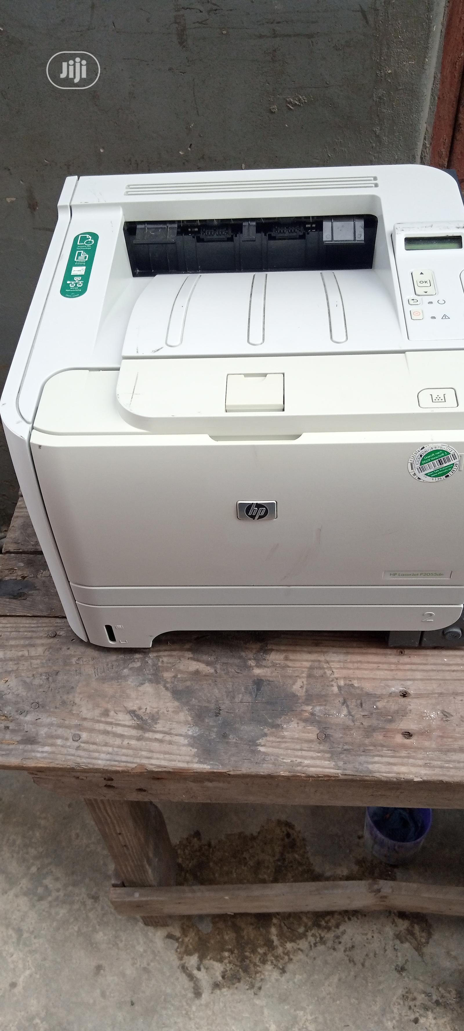 HP Laserjet P2055 Printer Black And White   Printers & Scanners for sale in Surulere, Lagos State, Nigeria