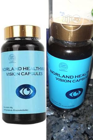 Vision Capsules For Glacoma, Cataract, Blur Vision & Myopia. | Vitamins & Supplements for sale in Lagos State, Ikeja