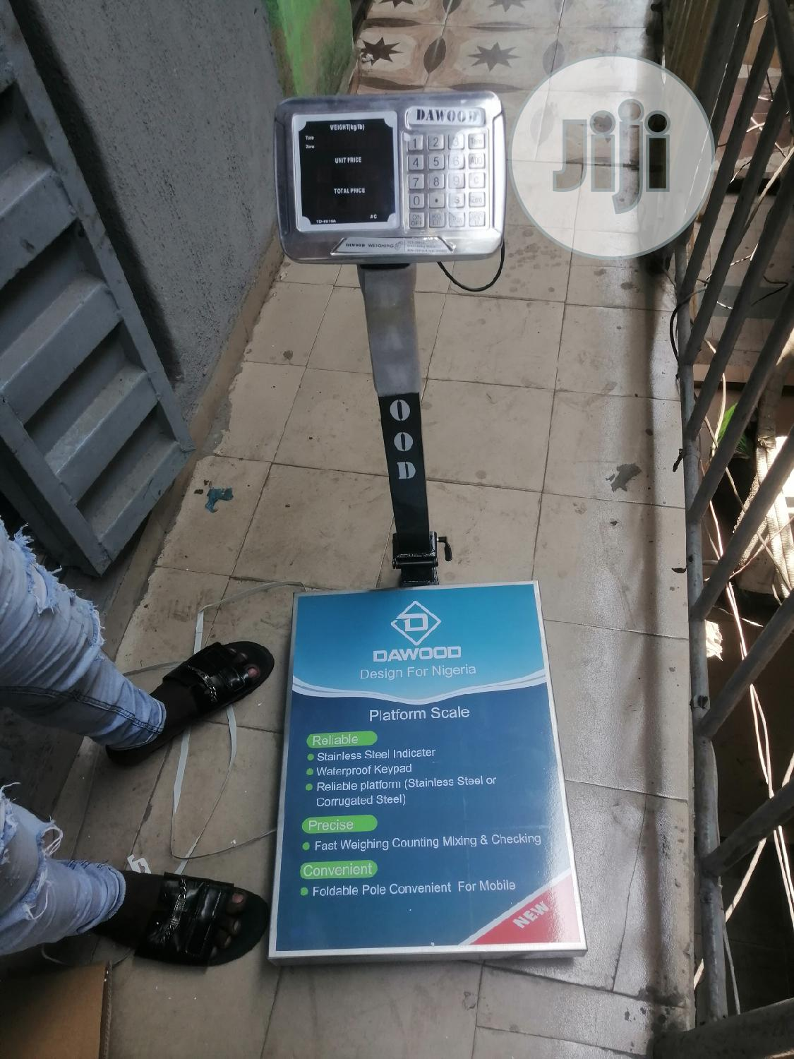 500kg Digital Scale Dawood Stainless Bass