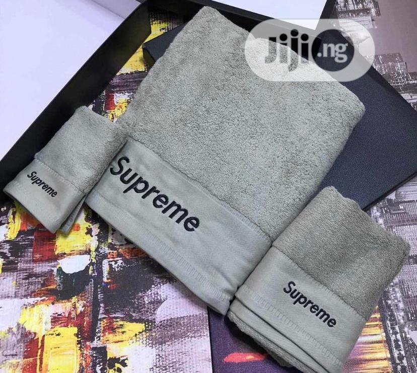 Supreme Towels