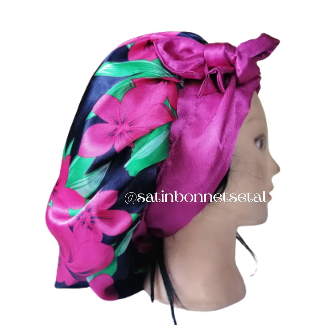 Satin Hair Bonnets   Clothing Accessories for sale in Yaba, Lagos State, Nigeria