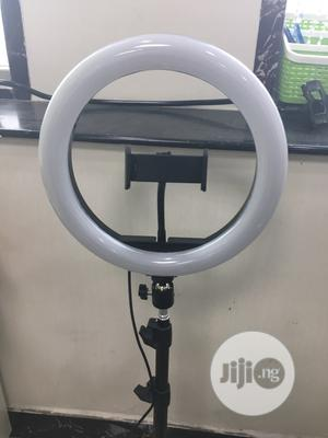 Ringlight With Tripod For Phone Youtube Makeup Video   Accessories & Supplies for Electronics for sale in Lagos State, Victoria Island