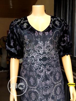 Stoned Velvet Dress | Clothing for sale in Lagos State, Ikorodu