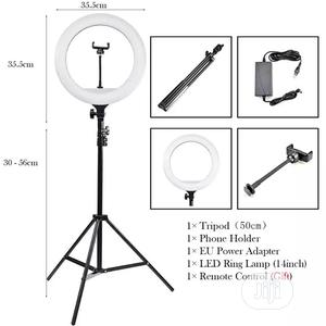 Ring Lamp 14 Inch LED Ring Light Dimmable   Accessories & Supplies for Electronics for sale in Lagos State, Victoria Island