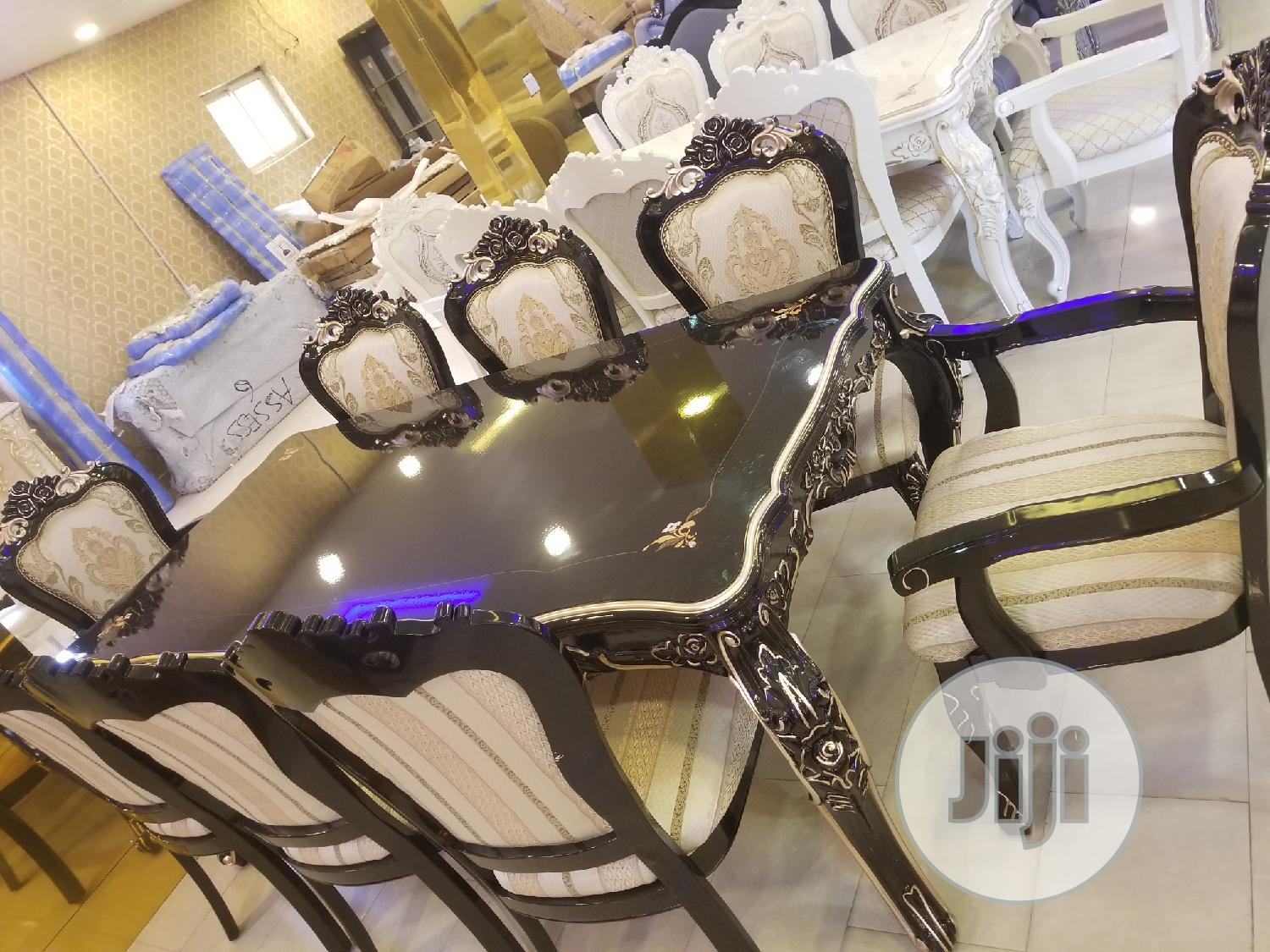 8seater Royal Wooden Family Dinning Table