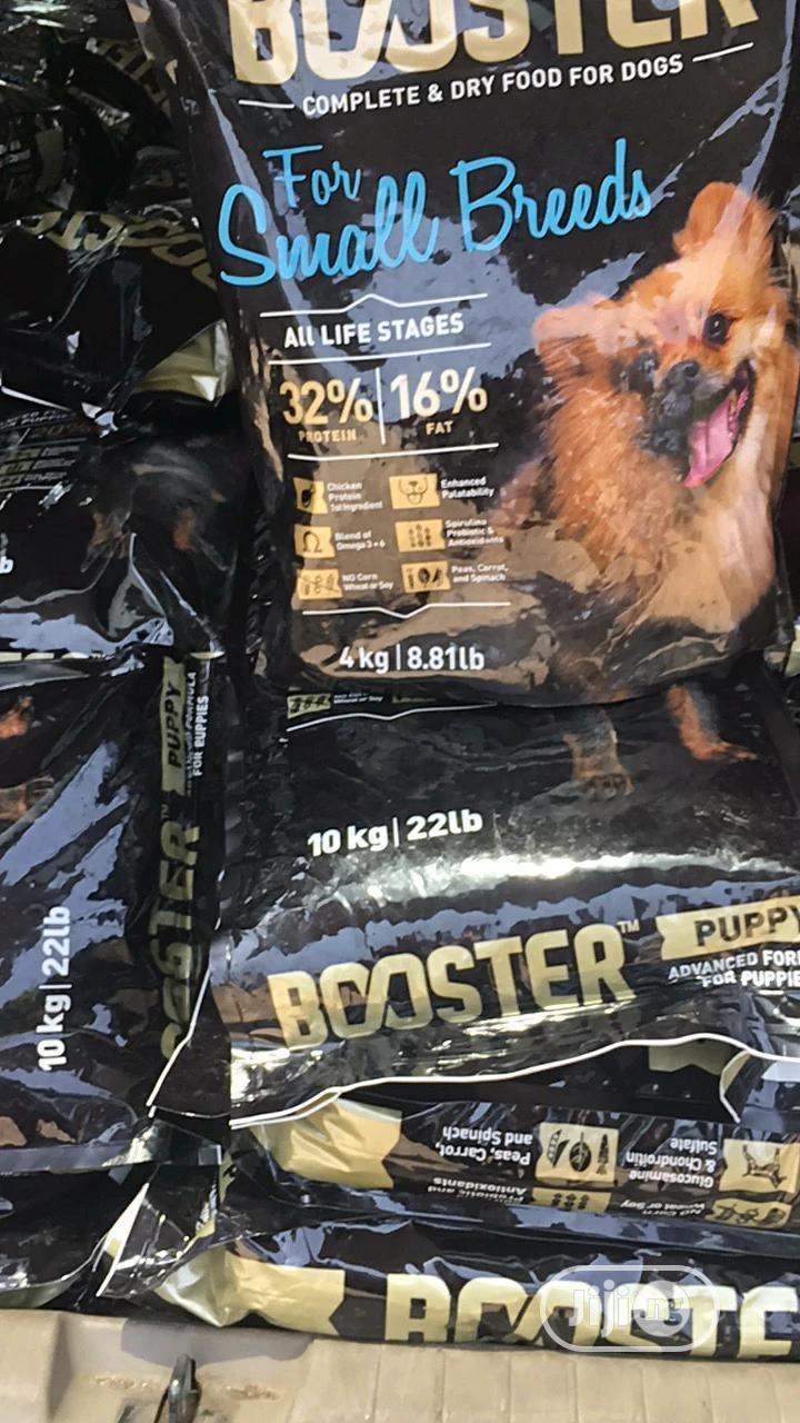Booster Small Breed Dog Food 4kg