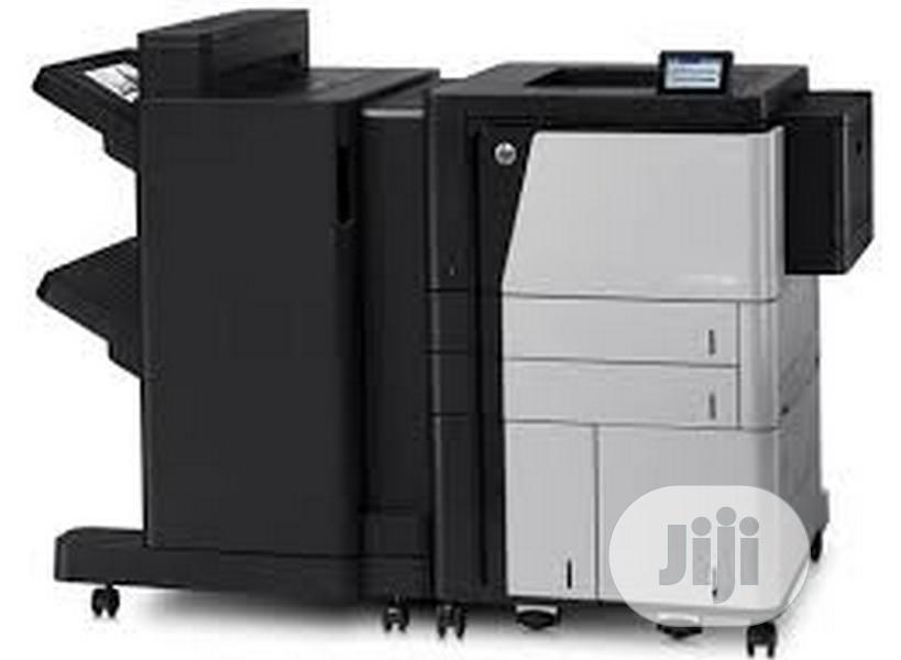 HP Laserjet Enterprise M806X+ Printer (Cz245a)