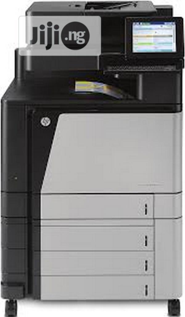 HP Colour Laserjet Enterprise Flow M880Z+ Multifunction   Printers & Scanners for sale in Ikeja, Lagos State, Nigeria