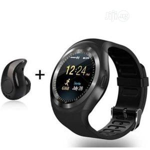 Y1smart Watch Support SIM Card And TF Card- White | Smart Watches & Trackers for sale in Lagos State, Ikeja