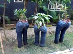 Jeans Flower Pot | Garden for sale in Abuja (FCT) State, Maitama