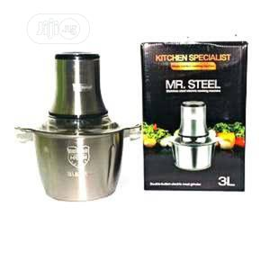 Mr Still 3L Electric Food Processor and Yam Pounder | Kitchen Appliances for sale in Lagos State, Yaba