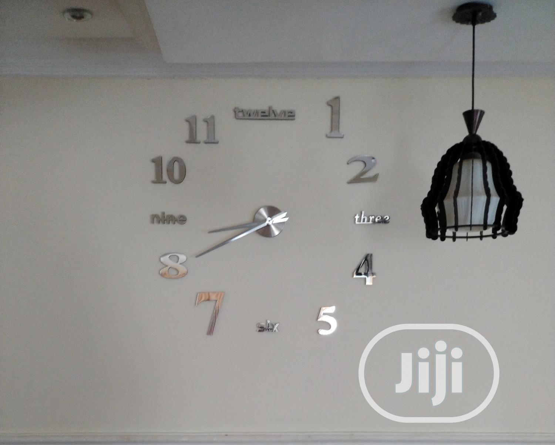 3D Decorative Wall Clock | Home Accessories for sale in Kaduna / Kaduna State, Kaduna State, Nigeria