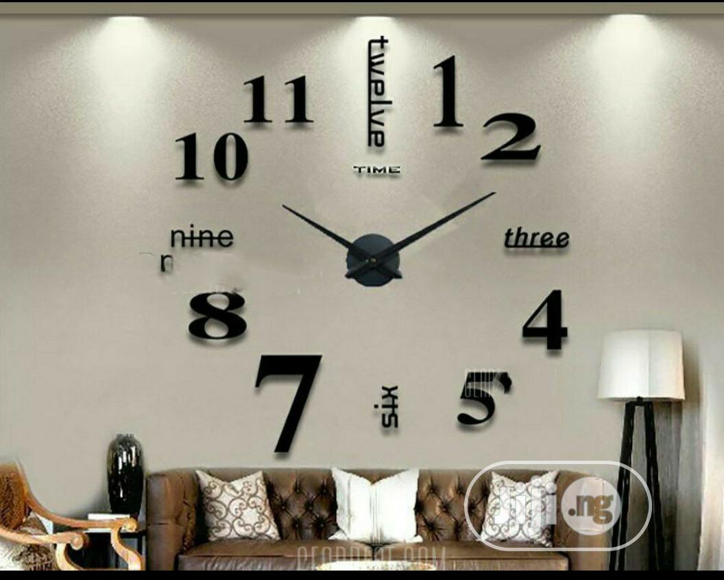 3D Decorative Wall Clock