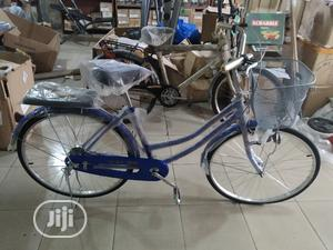 Adult Bicycle With Basket and Seat | Sports Equipment for sale in Lagos State, Surulere