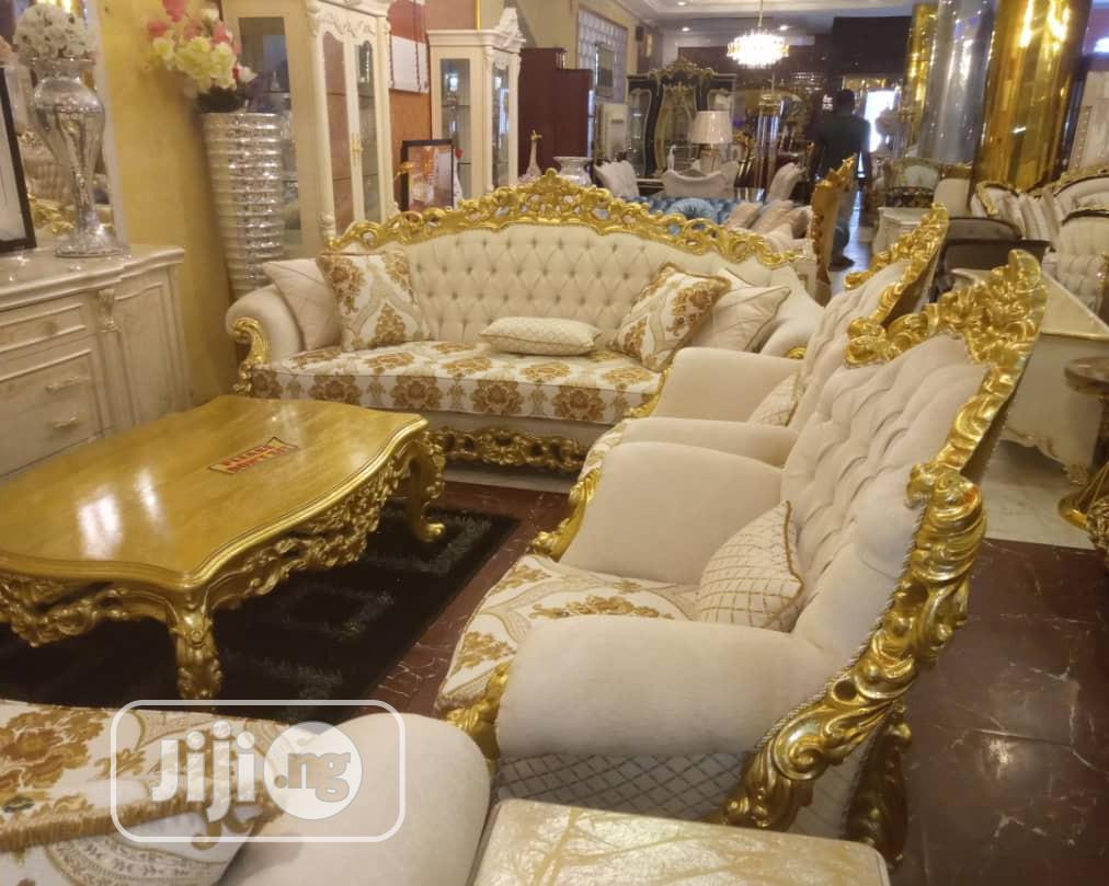 Turkish Royal Sofa Chair Complete Set