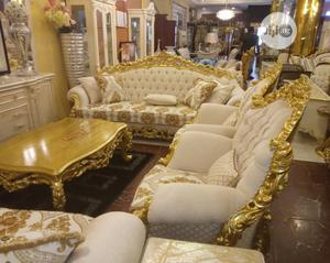 Turkish Royal Sofa Chair Complete Set | Furniture for sale in Lagos State, Ajah