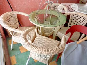 Super Quality Garden/Outdoor Dinning Table With 4 Chairs   Furniture for sale in Lagos State, Ojo