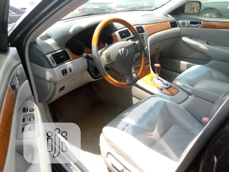 Lexus ES 330 2005 Black   Cars for sale in Apapa, Lagos State, Nigeria