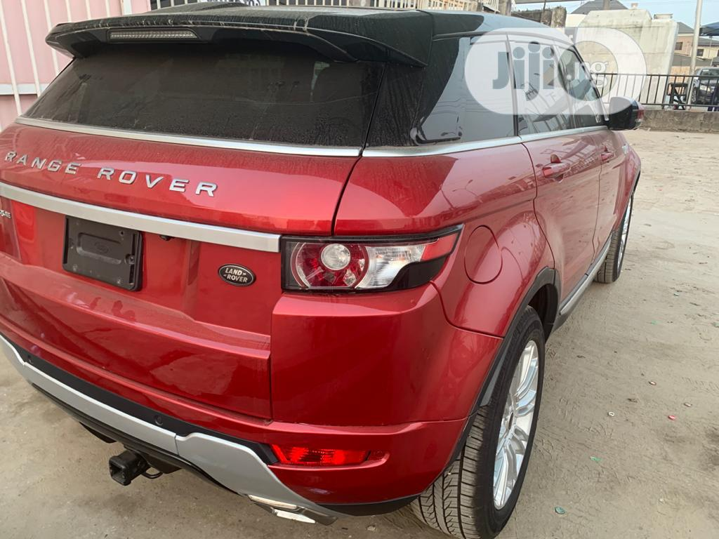 Land Rover Range Rover Evoque 2013 Pure Plus AWD Red