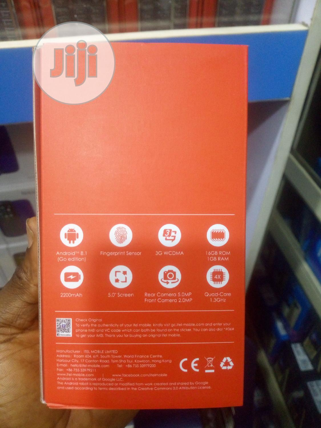 Archive: New Itel A33 8 GB
