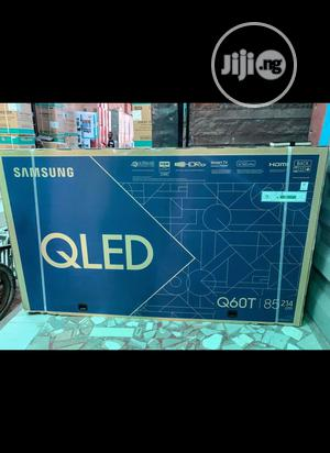 """Samsung 85""""Inch Qled{ Q60T} 4K Smart Tv With VDE View A++ 