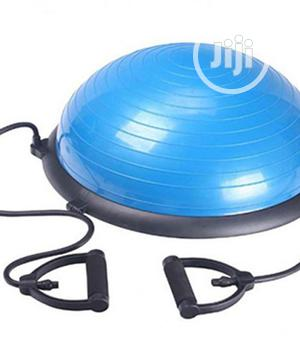 Bosu Half Gym Ball With Rope | Sports Equipment for sale in Lagos State, Surulere