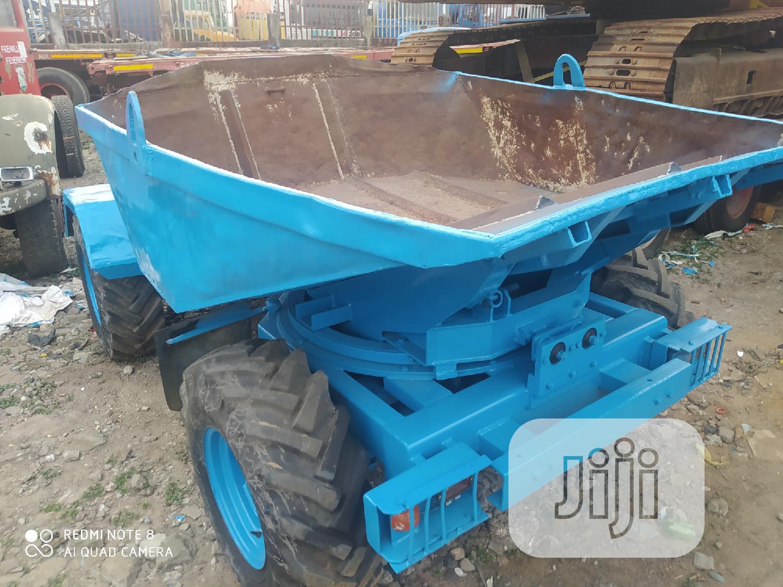 European Used 4tons Dumper 4 X 4 Machine 4sale