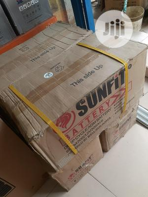 12v 200ah Sunfit Battery Available Now Now   Solar Energy for sale in Lagos State, Ojo