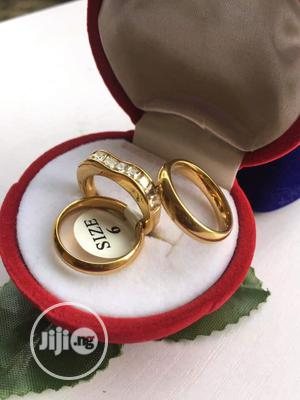 Gold Wedding Ring Set | Wedding Wear & Accessories for sale in Lagos State, Surulere