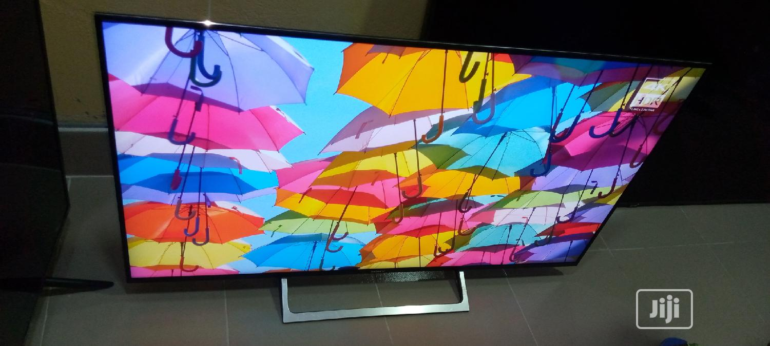 """Ultra Slim 55"""" Sony Android 4k Hdr Tv   TV & DVD Equipment for sale in Ojo, Lagos State, Nigeria"""