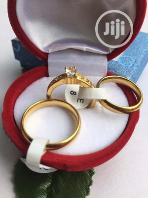 Wedding Ring Set Gold 02   Wedding Wear & Accessories for sale in Lagos State, Surulere
