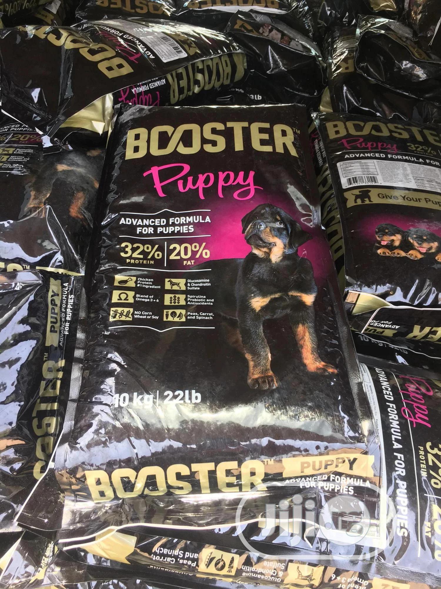 Booster Puppy Dog Food 10kg