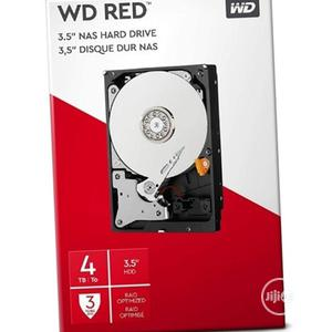 Wd 4tb Nas Internal Hard Drive - Red | Computer Hardware for sale in Lagos State, Shomolu