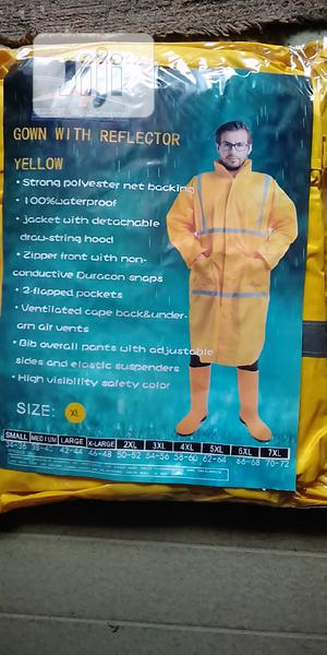 Gown Raincoat With Reflector | Safetywear & Equipment for sale in Lagos State, Lagos Island (Eko)