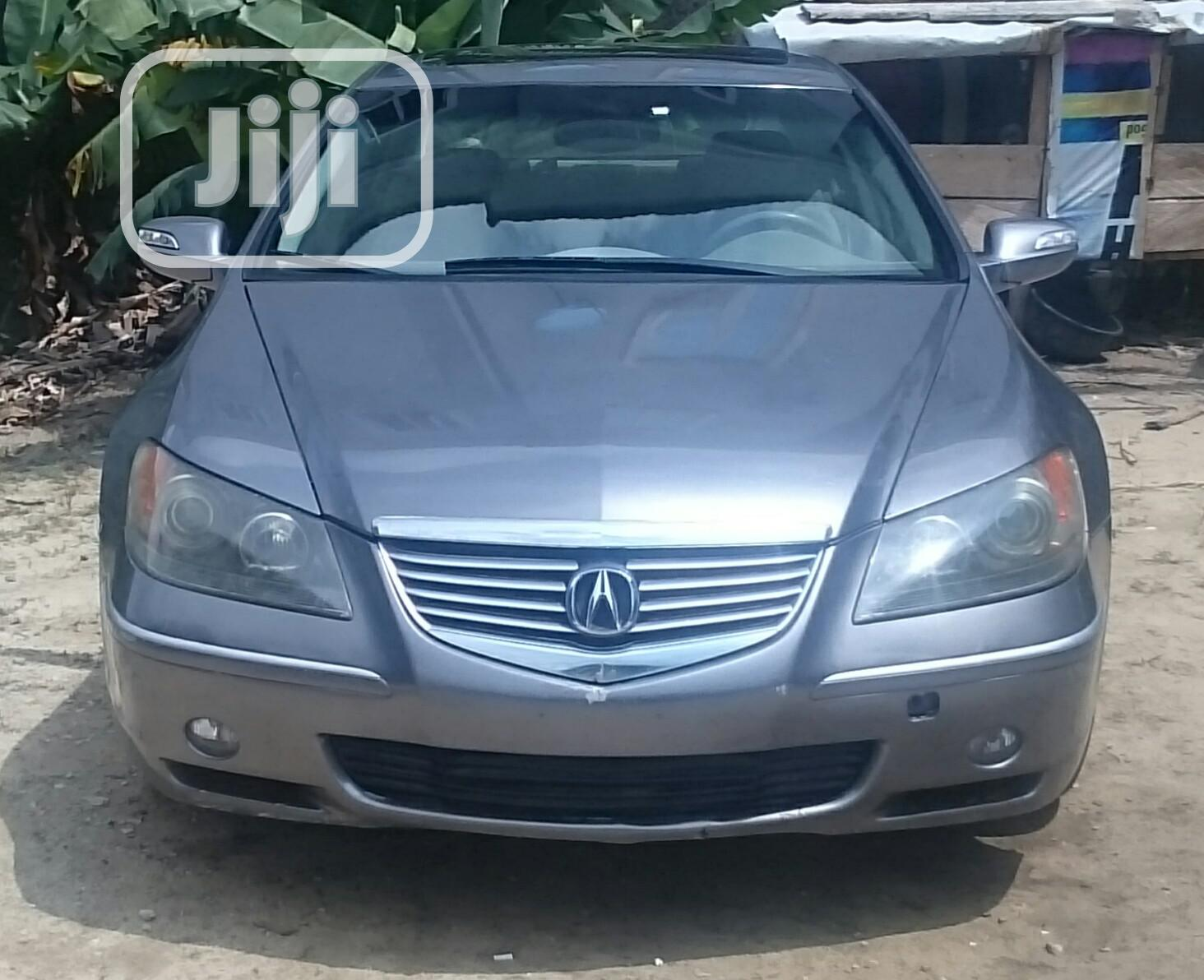 Acura RL 2006 Sedan Gray