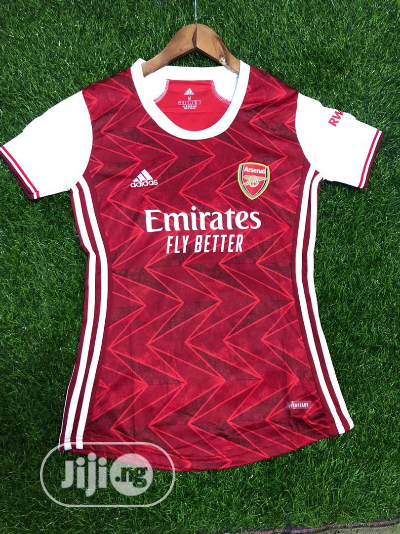 Arsenal Official 20/21 Female Home Jersey