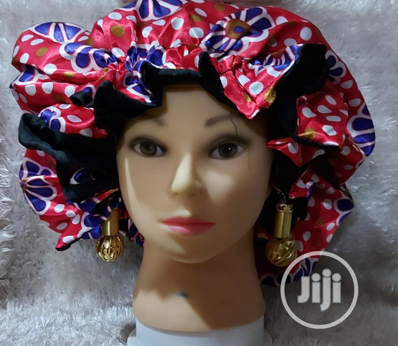 Sleeping Cap/Satin Hair Bonnet