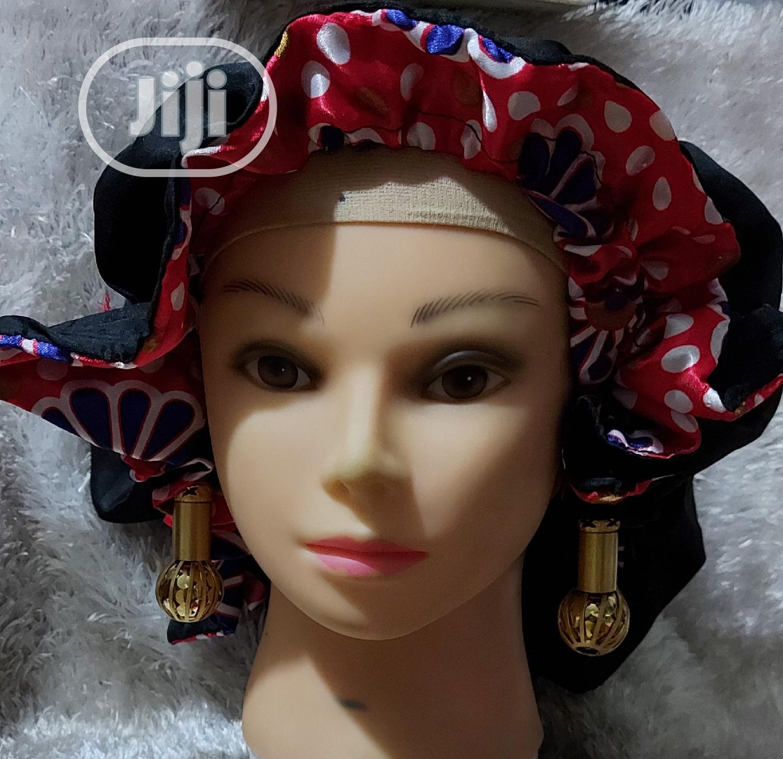 Sleeping Cap/Satin Hair Bonnet | Clothing Accessories for sale in Ikotun/Igando, Lagos State, Nigeria