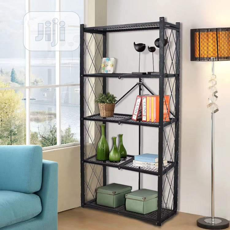 Gray Storage Rack