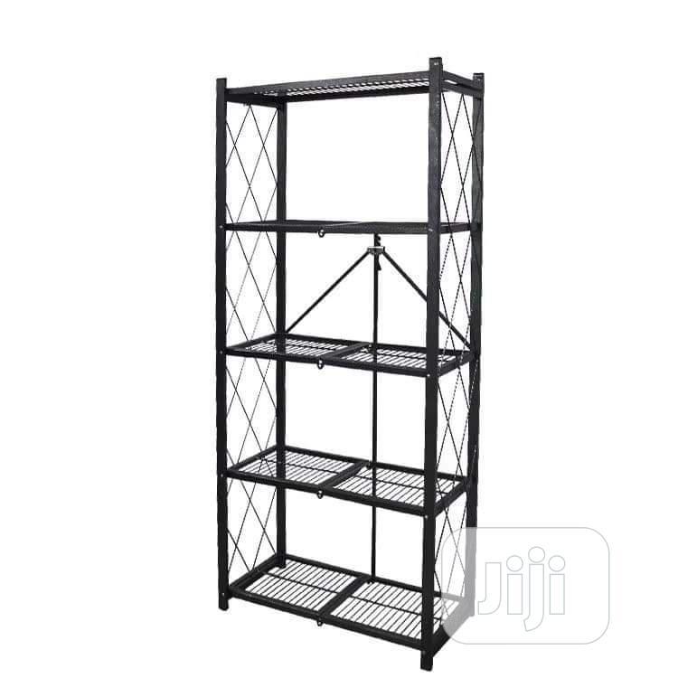 Gray Storage Rack | Furniture for sale in Ikorodu, Lagos State, Nigeria
