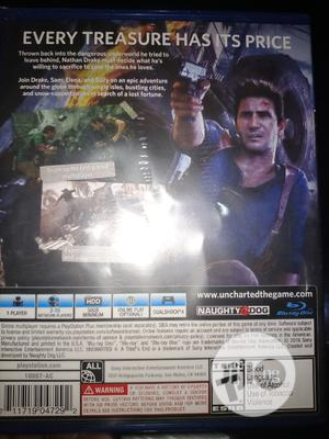 Uncharted 4 a Thief's End   Video Games for sale in Edo State, Benin City