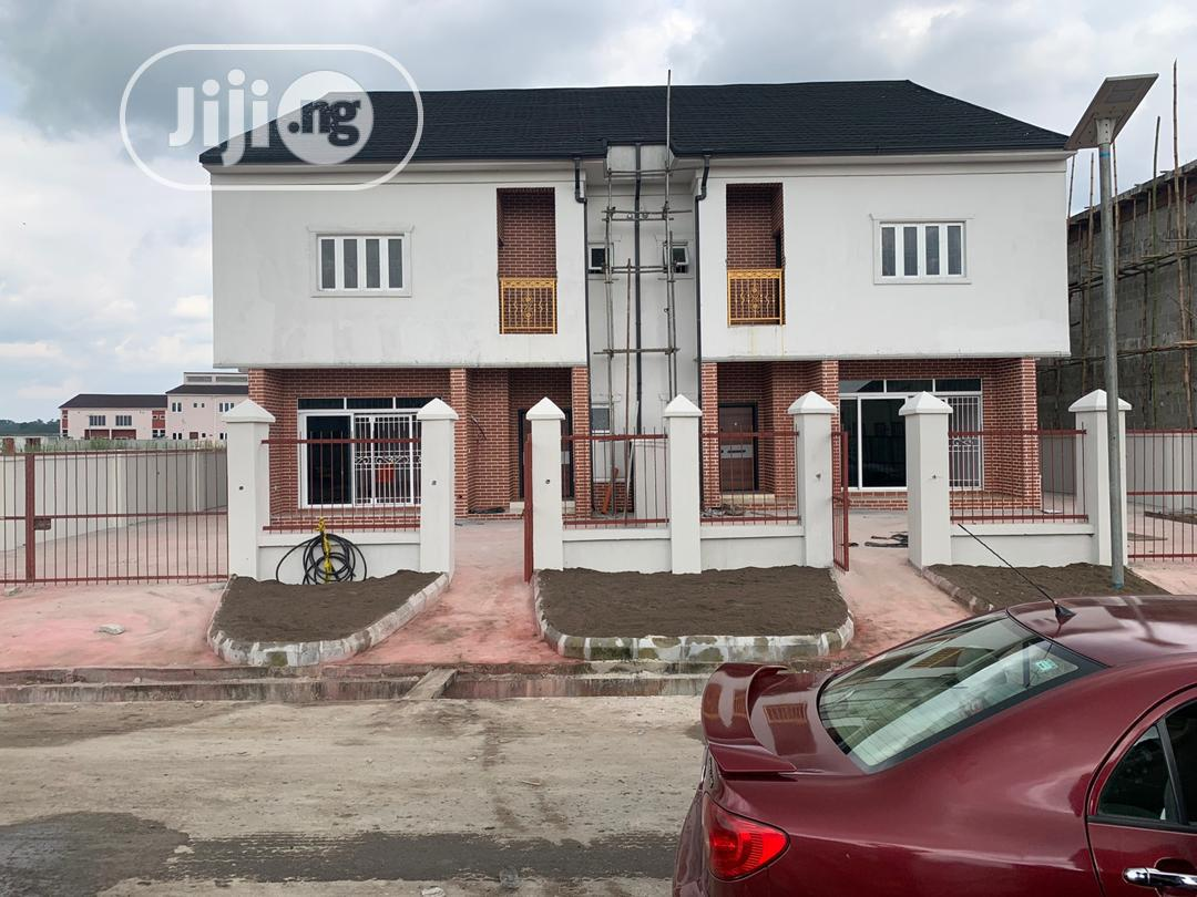 Brand New 4bedroom Duplex With Federal Light In Golf Estate.