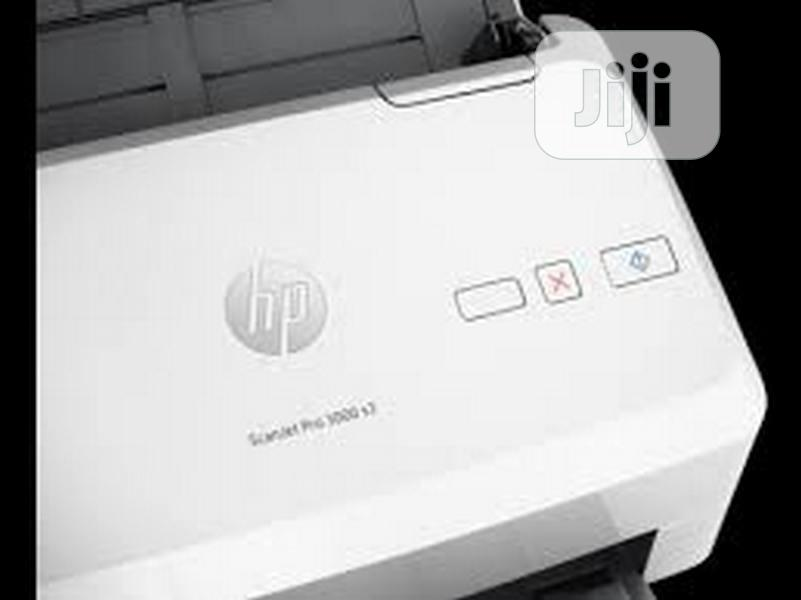 HP Scanjet PRO 3000 S3 Sheet-feed Scanner (L2753A)   Printers & Scanners for sale in Ikeja, Lagos State, Nigeria