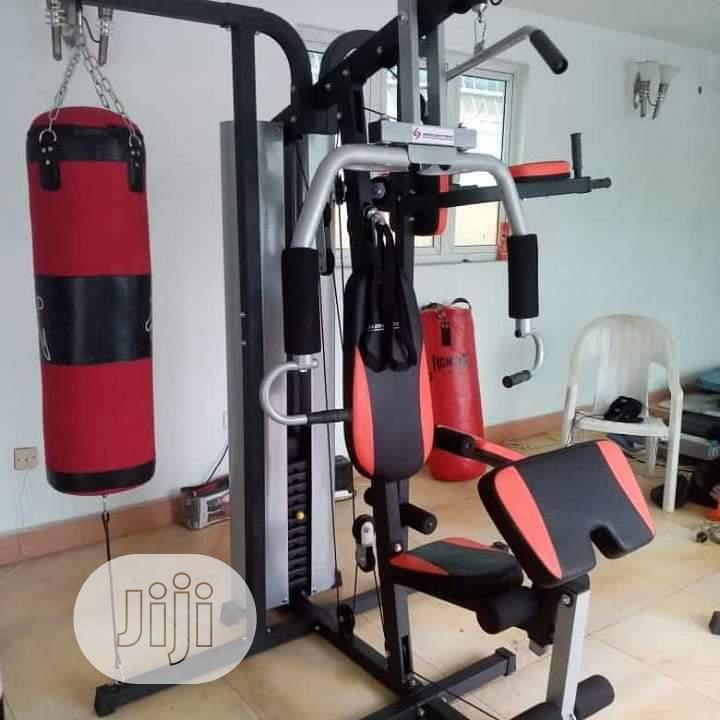 Archive: Three Station Gym Equipments American Fitness in Jos - Sports  Equipment, Delawman Sports Shop | Jiji.ng